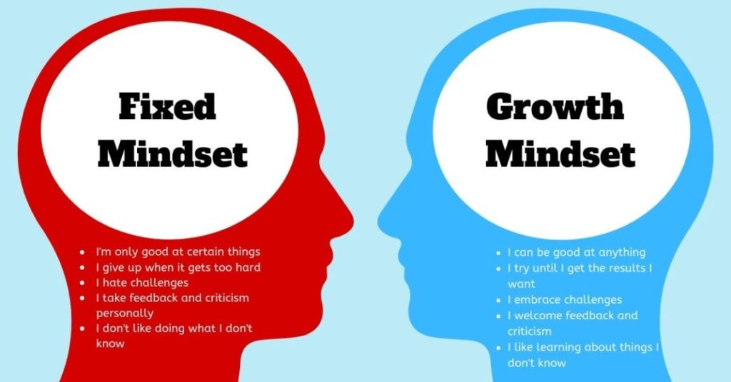 Which mindset do you have?